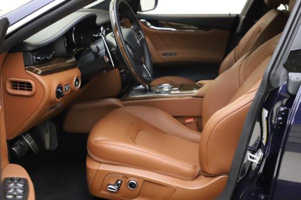 New 2021 Maserati Quattroporte S Q4 GranLusso for sale $123,549 at Rolls-Royce Motor Cars Greenwich in Greenwich CT 06830 13