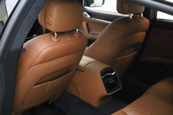New 2021 Maserati Quattroporte S Q4 GranLusso for sale $123,549 at Rolls-Royce Motor Cars Greenwich in Greenwich CT 06830 17