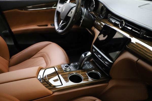 New 2021 Maserati Quattroporte S Q4 GranLusso for sale $123,549 at Rolls-Royce Motor Cars Greenwich in Greenwich CT 06830 21