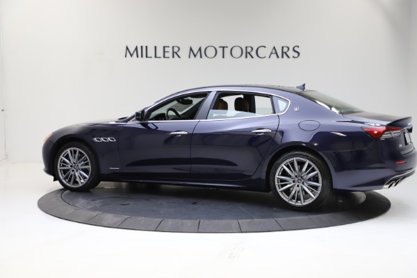 New 2021 Maserati Quattroporte S Q4 GranLusso for sale $123,549 at Rolls-Royce Motor Cars Greenwich in Greenwich CT 06830 3