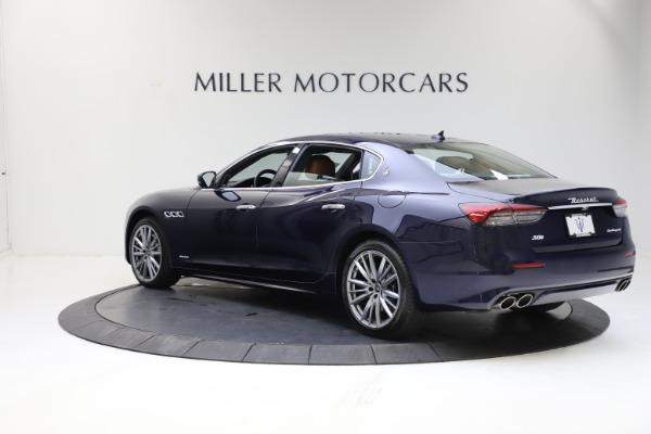 New 2021 Maserati Quattroporte S Q4 GranLusso for sale $123,549 at Rolls-Royce Motor Cars Greenwich in Greenwich CT 06830 4