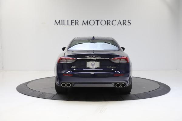 New 2021 Maserati Quattroporte S Q4 GranLusso for sale $123,549 at Rolls-Royce Motor Cars Greenwich in Greenwich CT 06830 5