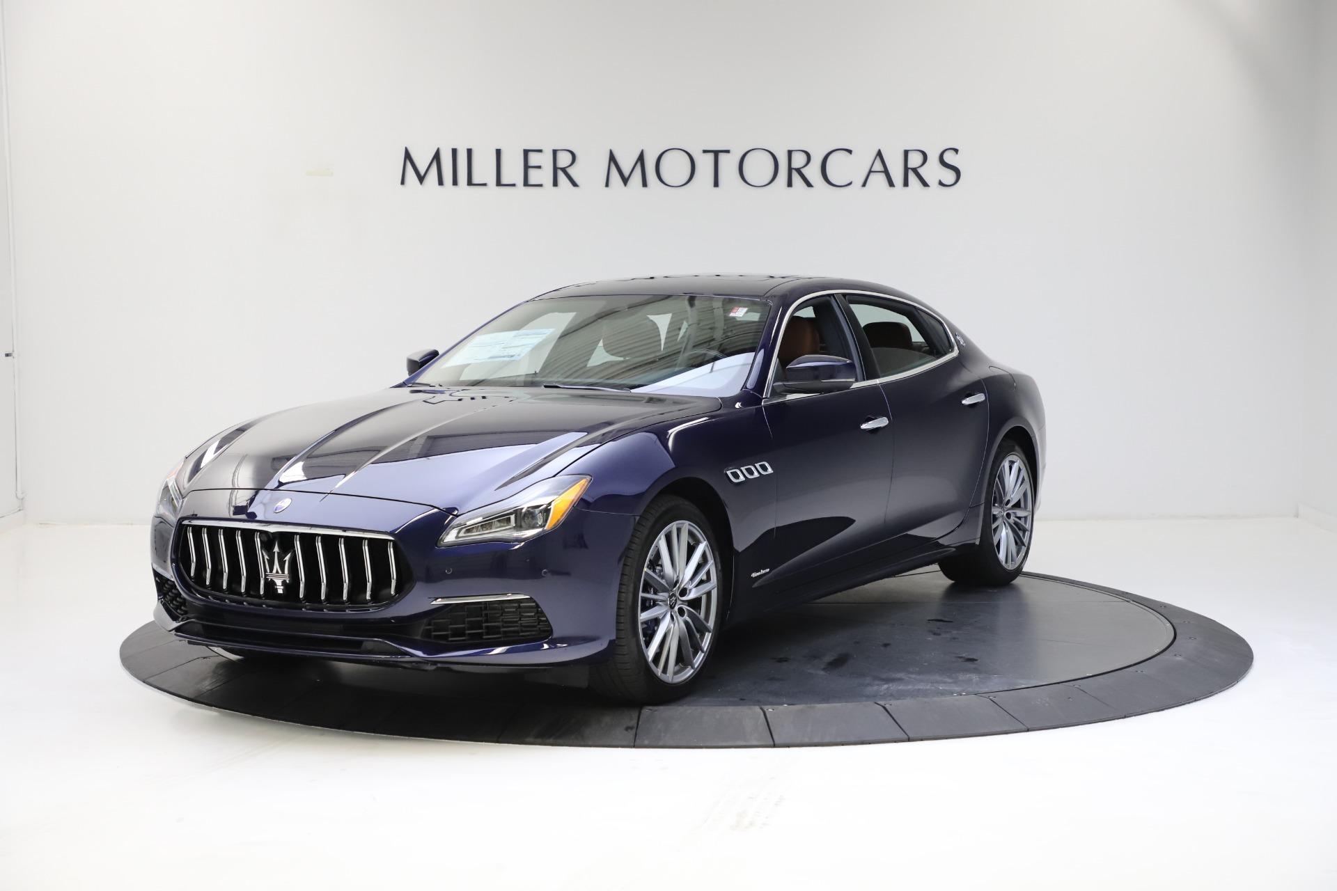 New 2021 Maserati Quattroporte S Q4 GranLusso for sale $123,549 at Rolls-Royce Motor Cars Greenwich in Greenwich CT 06830 1