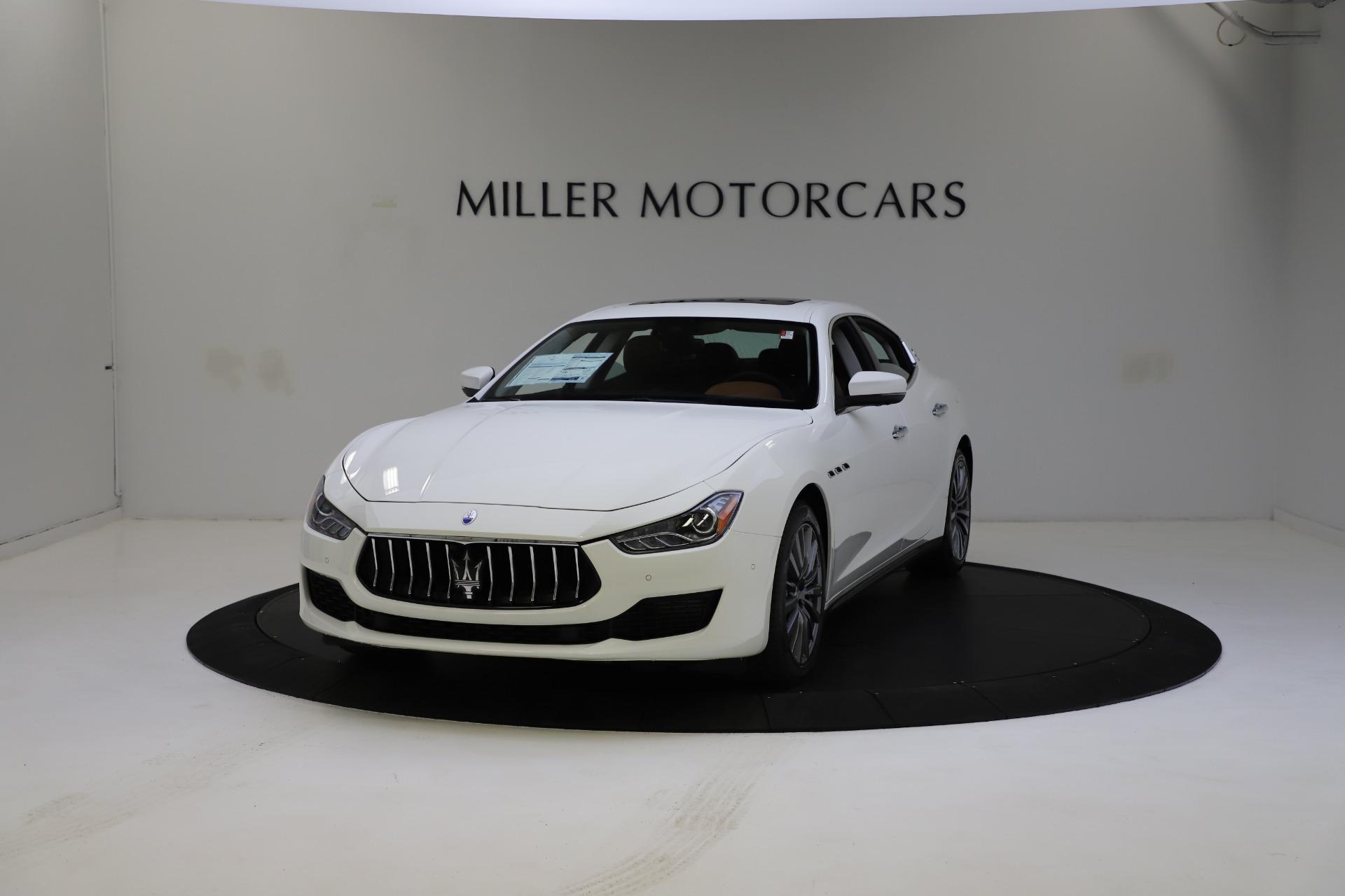 New 2021 Maserati Ghibli S Q4 for sale $85,754 at Rolls-Royce Motor Cars Greenwich in Greenwich CT 06830 1