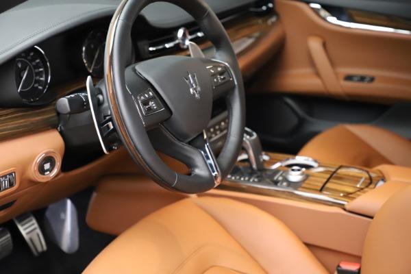 New 2021 Maserati Quattroporte S Q4 for sale $114,149 at Rolls-Royce Motor Cars Greenwich in Greenwich CT 06830 13