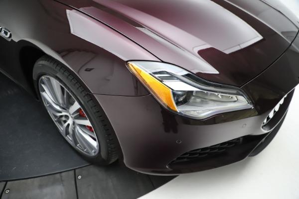 New 2021 Maserati Quattroporte S Q4 for sale $114,149 at Rolls-Royce Motor Cars Greenwich in Greenwich CT 06830 24