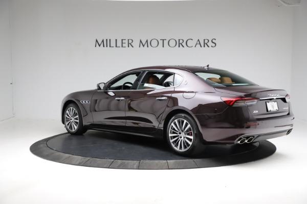 New 2021 Maserati Quattroporte S Q4 for sale $114,149 at Rolls-Royce Motor Cars Greenwich in Greenwich CT 06830 5