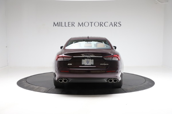 New 2021 Maserati Quattroporte S Q4 for sale $114,149 at Rolls-Royce Motor Cars Greenwich in Greenwich CT 06830 6