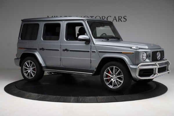 Used 2021 Mercedes-Benz G-Class AMG G 63 for sale $219,900 at Rolls-Royce Motor Cars Greenwich in Greenwich CT 06830 10