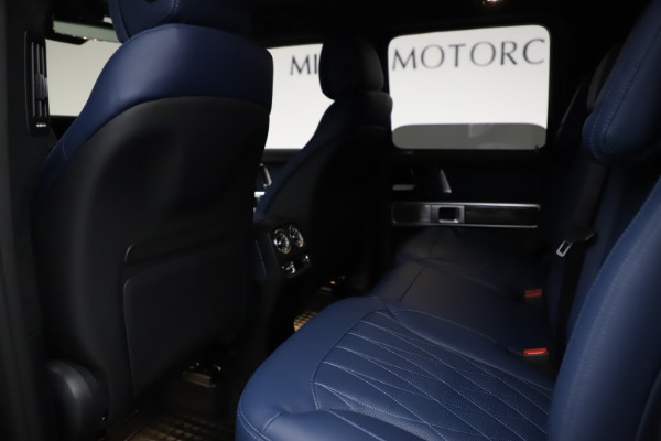 Used 2021 Mercedes-Benz G-Class AMG G 63 for sale $219,900 at Rolls-Royce Motor Cars Greenwich in Greenwich CT 06830 19