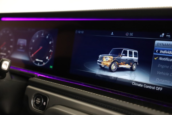 Used 2021 Mercedes-Benz G-Class AMG G 63 for sale $219,900 at Rolls-Royce Motor Cars Greenwich in Greenwich CT 06830 24