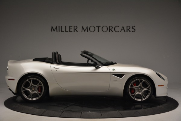 Used 2009 Alfa Romeo 8C Competizione Spider for sale $345,900 at Rolls-Royce Motor Cars Greenwich in Greenwich CT 06830 9