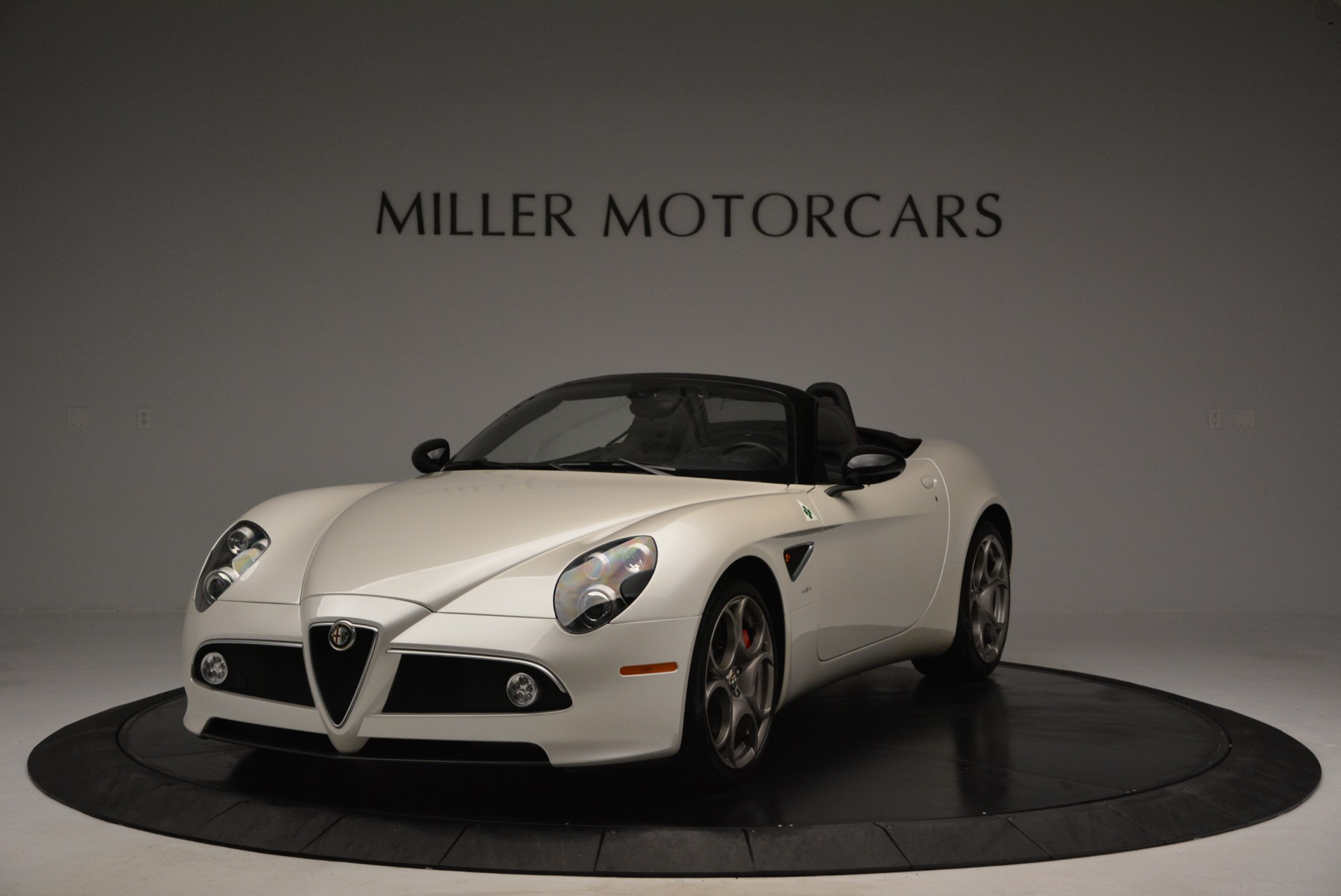 Used 2009 Alfa Romeo 8C Competizione Spider for sale $345,900 at Rolls-Royce Motor Cars Greenwich in Greenwich CT 06830 1