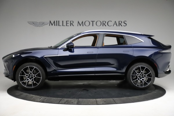 New 2021 Aston Martin DBX for sale $205,386 at Rolls-Royce Motor Cars Greenwich in Greenwich CT 06830 2