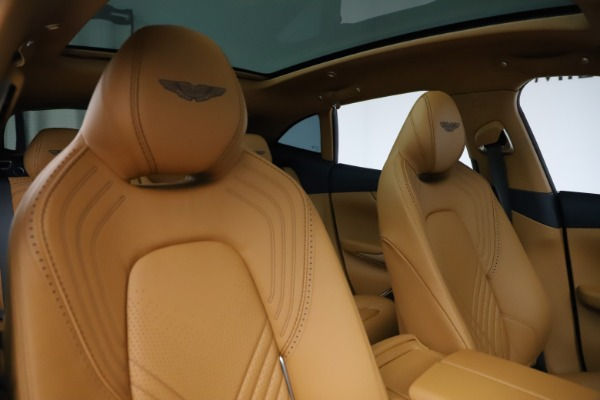 New 2021 Aston Martin DBX for sale $205,386 at Rolls-Royce Motor Cars Greenwich in Greenwich CT 06830 21