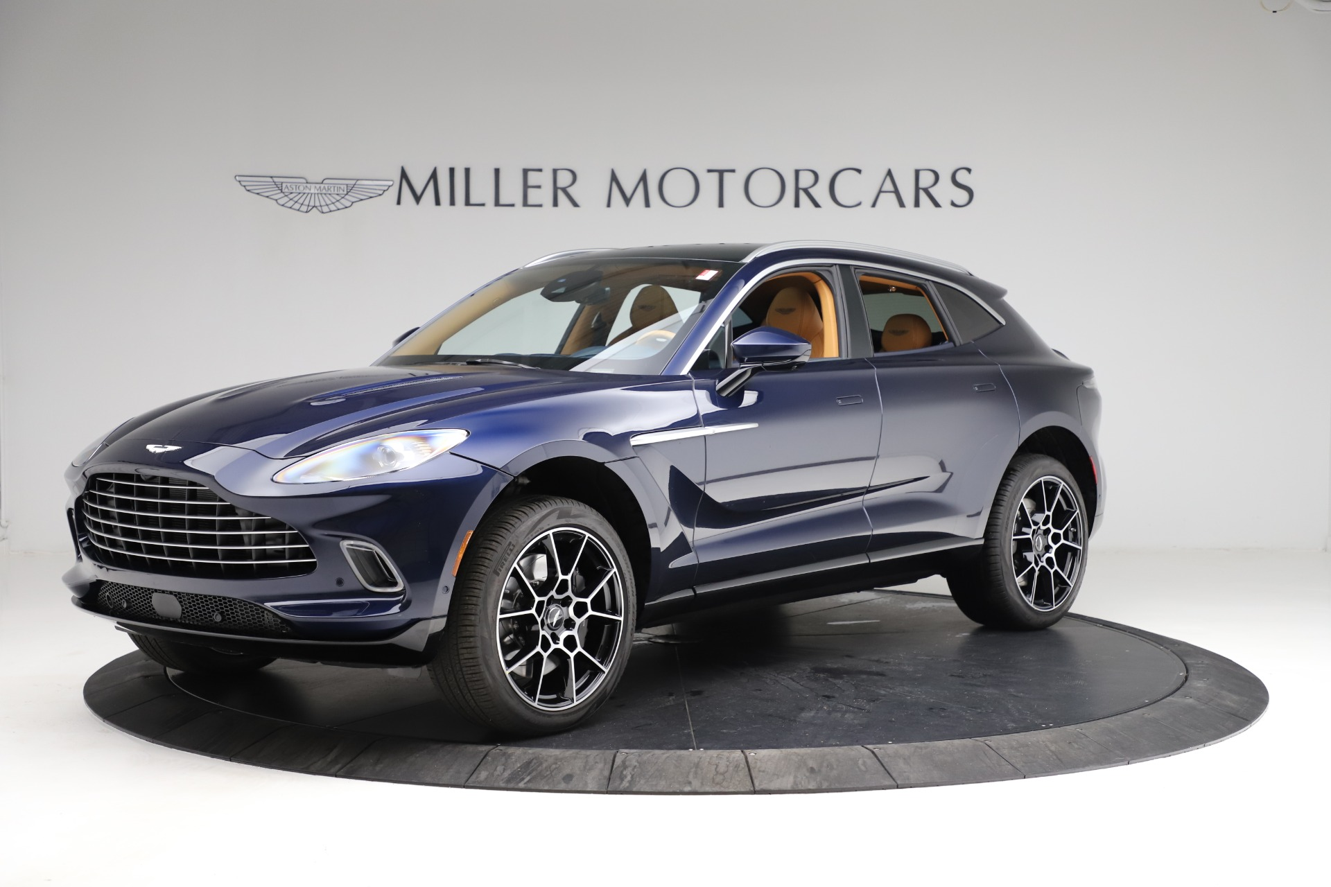New 2021 Aston Martin DBX for sale $205,386 at Rolls-Royce Motor Cars Greenwich in Greenwich CT 06830 1