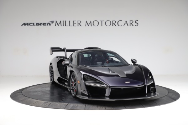 Used 2019 McLaren Senna for sale $1,195,000 at Rolls-Royce Motor Cars Greenwich in Greenwich CT 06830 10