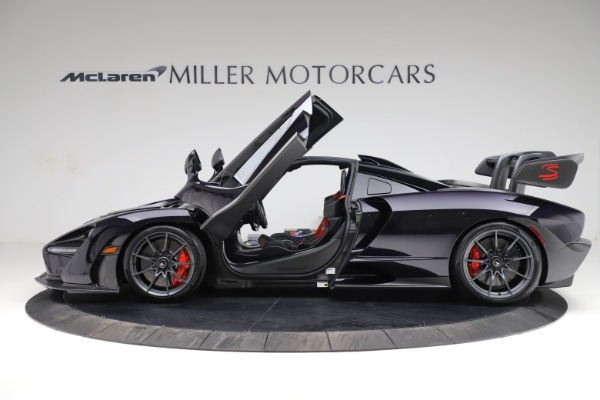 Used 2019 McLaren Senna for sale $1,195,000 at Rolls-Royce Motor Cars Greenwich in Greenwich CT 06830 14