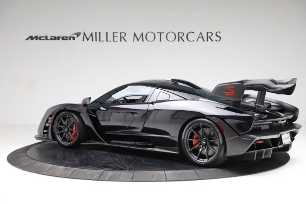 Used 2019 McLaren Senna for sale $1,195,000 at Rolls-Royce Motor Cars Greenwich in Greenwich CT 06830 3