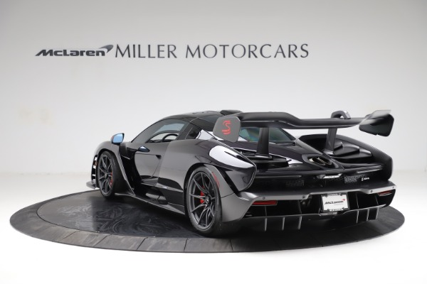 Used 2019 McLaren Senna for sale $1,195,000 at Rolls-Royce Motor Cars Greenwich in Greenwich CT 06830 4