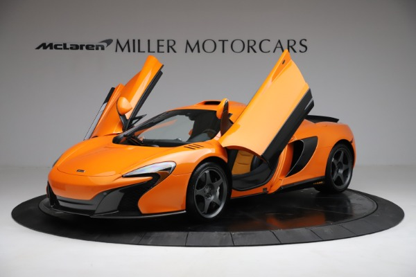 Used 2015 McLaren 650S LeMans for sale $269,990 at Rolls-Royce Motor Cars Greenwich in Greenwich CT 06830 13