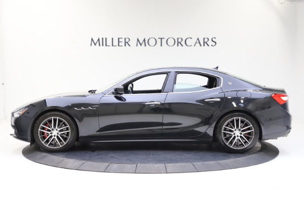 Used 2014 Maserati Ghibli S Q4 for sale Call for price at Rolls-Royce Motor Cars Greenwich in Greenwich CT 06830 3