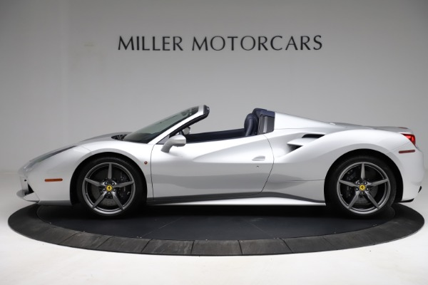 Used 2017 Ferrari 488 Spider for sale $284,900 at Rolls-Royce Motor Cars Greenwich in Greenwich CT 06830 3