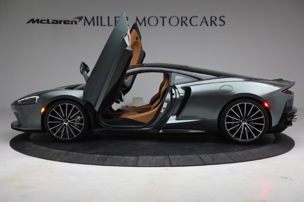 Used 2021 McLaren GT LUXE for sale Call for price at Rolls-Royce Motor Cars Greenwich in Greenwich CT 06830 15