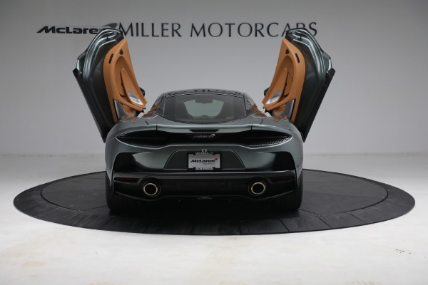 Used 2021 McLaren GT LUXE for sale Call for price at Rolls-Royce Motor Cars Greenwich in Greenwich CT 06830 17