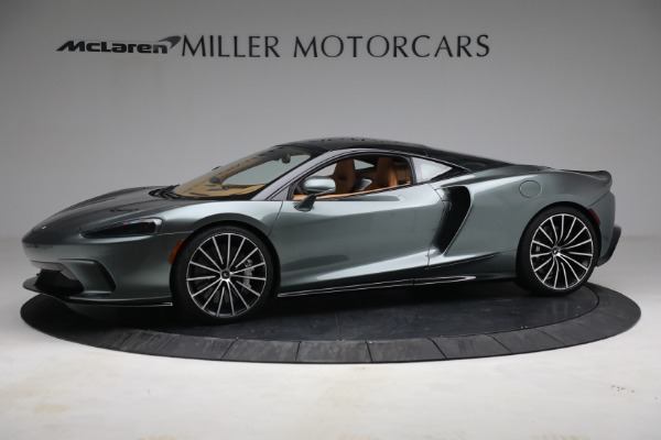 New 2021 McLaren GT LUXE for sale $214,005 at Rolls-Royce Motor Cars Greenwich in Greenwich CT 06830 2