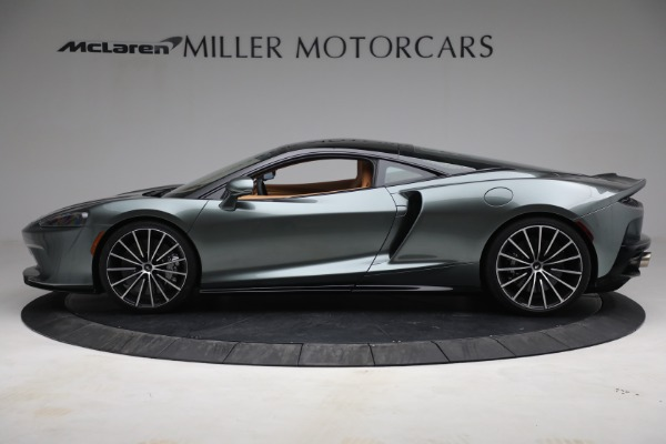 New 2021 McLaren GT LUXE for sale $214,005 at Rolls-Royce Motor Cars Greenwich in Greenwich CT 06830 3