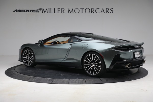 New 2021 McLaren GT LUXE for sale $214,005 at Rolls-Royce Motor Cars Greenwich in Greenwich CT 06830 4