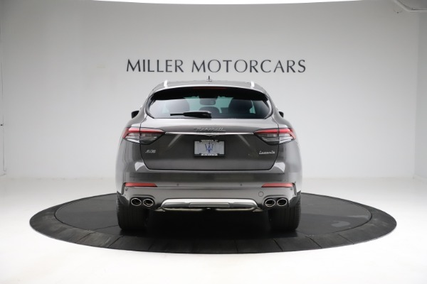 New 2021 Maserati Levante S Q4 GranLusso for sale $105,549 at Rolls-Royce Motor Cars Greenwich in Greenwich CT 06830 6
