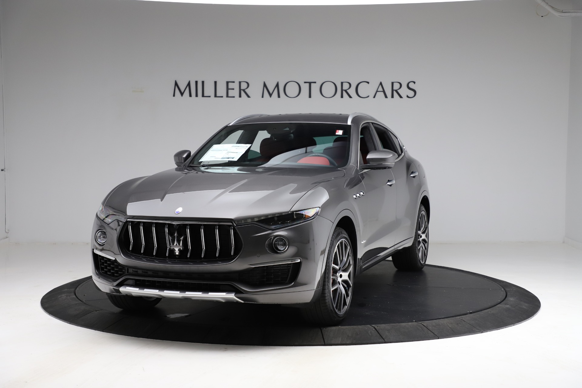 New 2021 Maserati Levante S Q4 GranLusso for sale $105,549 at Rolls-Royce Motor Cars Greenwich in Greenwich CT 06830 1