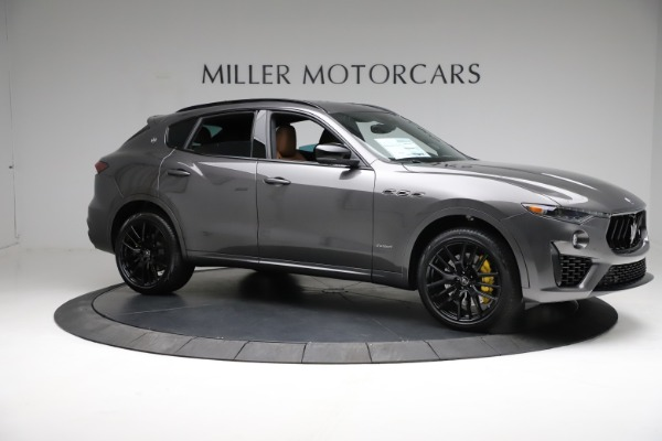 New 2021 Maserati Levante S Q4 GranSport for sale $114,485 at Rolls-Royce Motor Cars Greenwich in Greenwich CT 06830 10