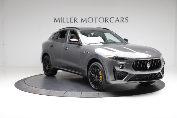 New 2021 Maserati Levante S Q4 GranSport for sale $114,485 at Rolls-Royce Motor Cars Greenwich in Greenwich CT 06830 11