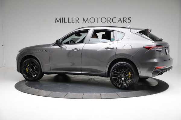 New 2021 Maserati Levante S Q4 GranSport for sale $114,485 at Rolls-Royce Motor Cars Greenwich in Greenwich CT 06830 4