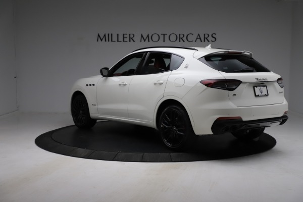 New 2021 Maserati Levante Q4 GranSport for sale $96,235 at Rolls-Royce Motor Cars Greenwich in Greenwich CT 06830 4
