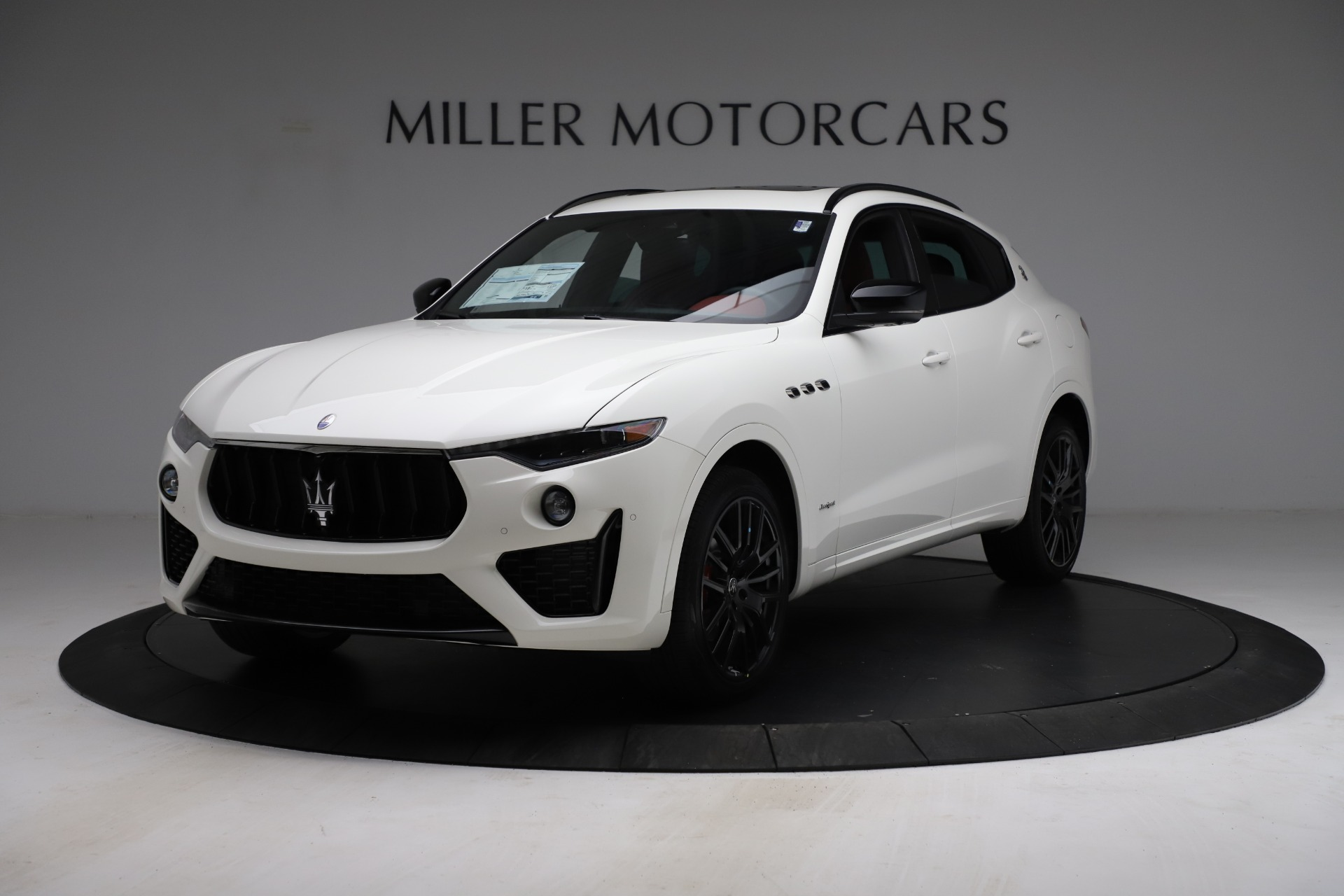 New 2021 Maserati Levante Q4 GranSport for sale $96,235 at Rolls-Royce Motor Cars Greenwich in Greenwich CT 06830 1