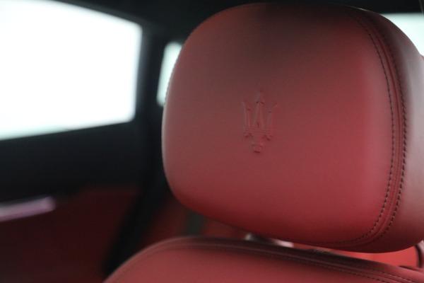 New 2021 Maserati Quattroporte S Q4 for sale $119,589 at Rolls-Royce Motor Cars Greenwich in Greenwich CT 06830 21