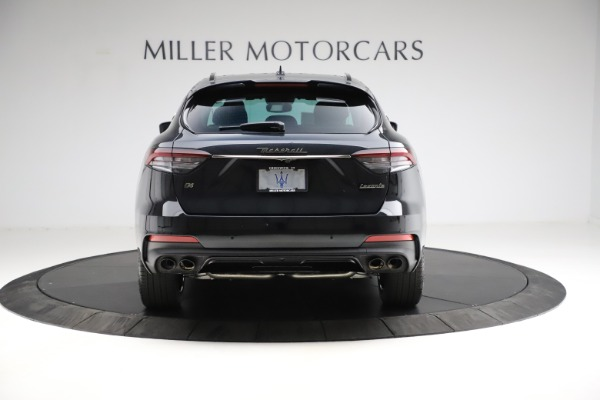 New 2021 Maserati Levante Q4 GranSport for sale $92,735 at Rolls-Royce Motor Cars Greenwich in Greenwich CT 06830 6