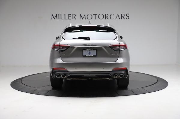 New 2021 Maserati Levante Q4 GranSport for sale $91,385 at Rolls-Royce Motor Cars Greenwich in Greenwich CT 06830 6