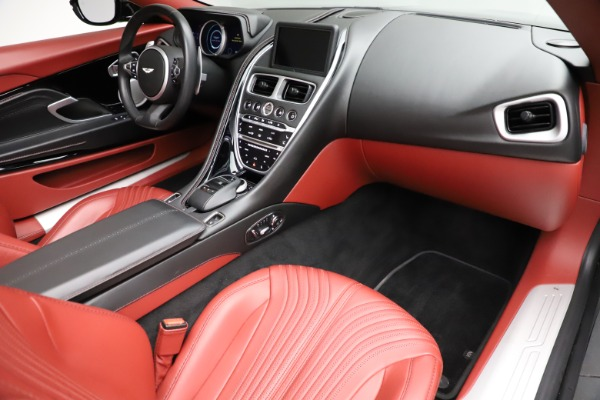 Used 2019 Aston Martin DB11 Volante for sale $211,990 at Rolls-Royce Motor Cars Greenwich in Greenwich CT 06830 18