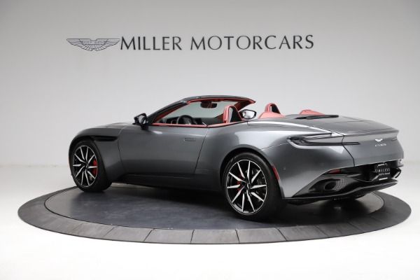 Used 2019 Aston Martin DB11 Volante for sale $211,990 at Rolls-Royce Motor Cars Greenwich in Greenwich CT 06830 3