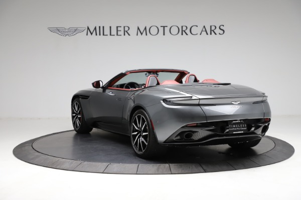 Used 2019 Aston Martin DB11 Volante for sale $211,990 at Rolls-Royce Motor Cars Greenwich in Greenwich CT 06830 4