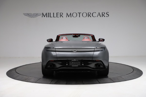 Used 2019 Aston Martin DB11 Volante for sale $211,990 at Rolls-Royce Motor Cars Greenwich in Greenwich CT 06830 5
