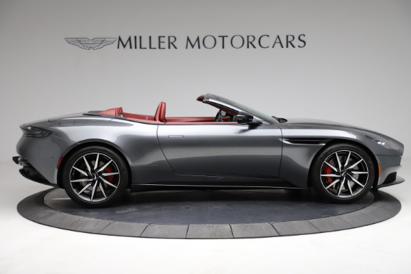 Used 2019 Aston Martin DB11 Volante for sale $211,990 at Rolls-Royce Motor Cars Greenwich in Greenwich CT 06830 8