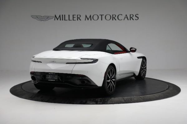Used 2019 Aston Martin DB11 Volante for sale $209,990 at Rolls-Royce Motor Cars Greenwich in Greenwich CT 06830 16