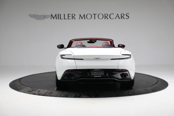 Used 2019 Aston Martin DB11 Volante for sale $209,990 at Rolls-Royce Motor Cars Greenwich in Greenwich CT 06830 5