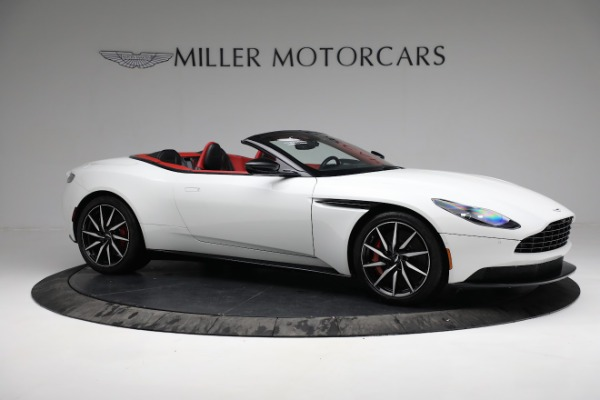 Used 2019 Aston Martin DB11 Volante for sale $209,990 at Rolls-Royce Motor Cars Greenwich in Greenwich CT 06830 9